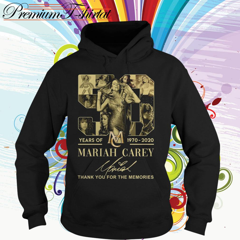 50 Years of Mariah Carey 1970 2020 thank you for the memories Hoodie