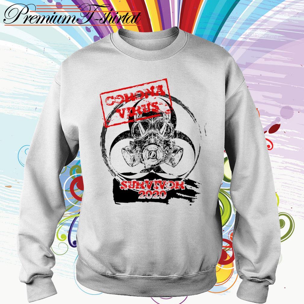Corona Virus survivor 2020 dangerous Sweater