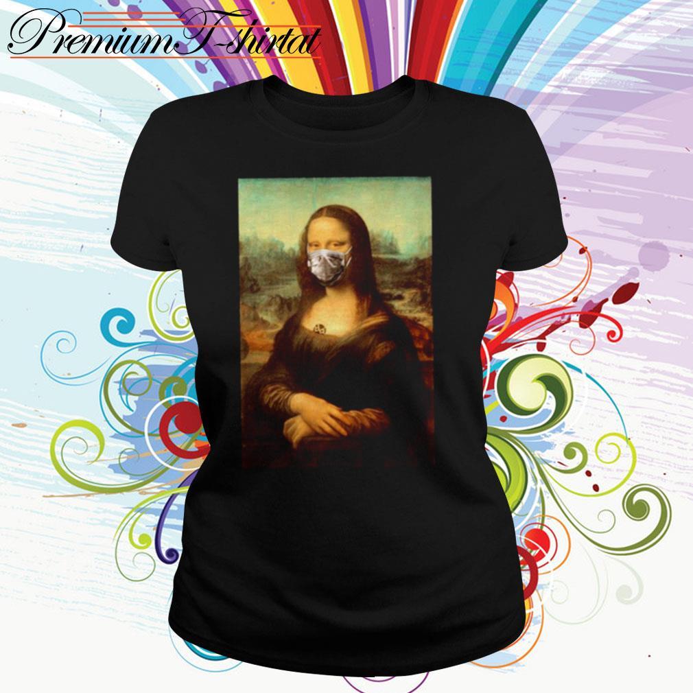 Mona Lisa Coronavirus Ladies Tee
