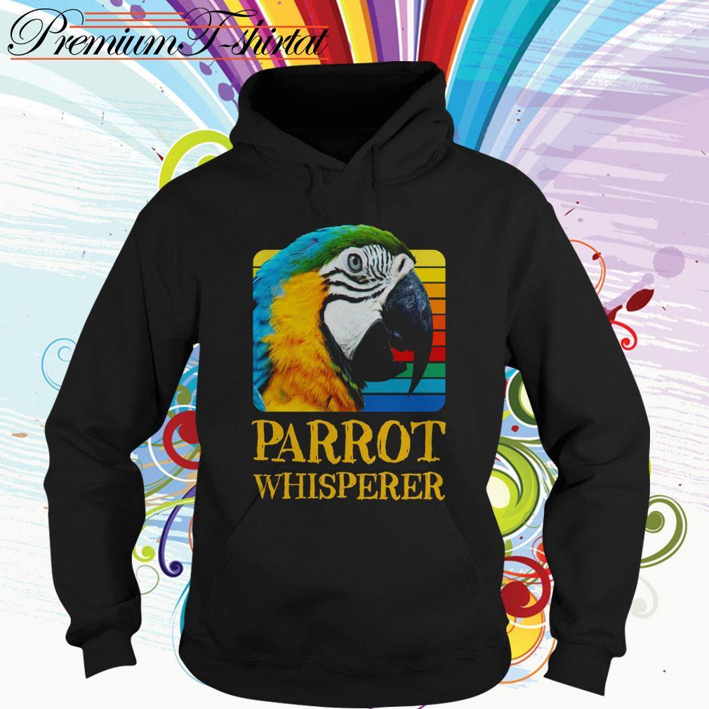Parrot whisperer vintage Hoodie