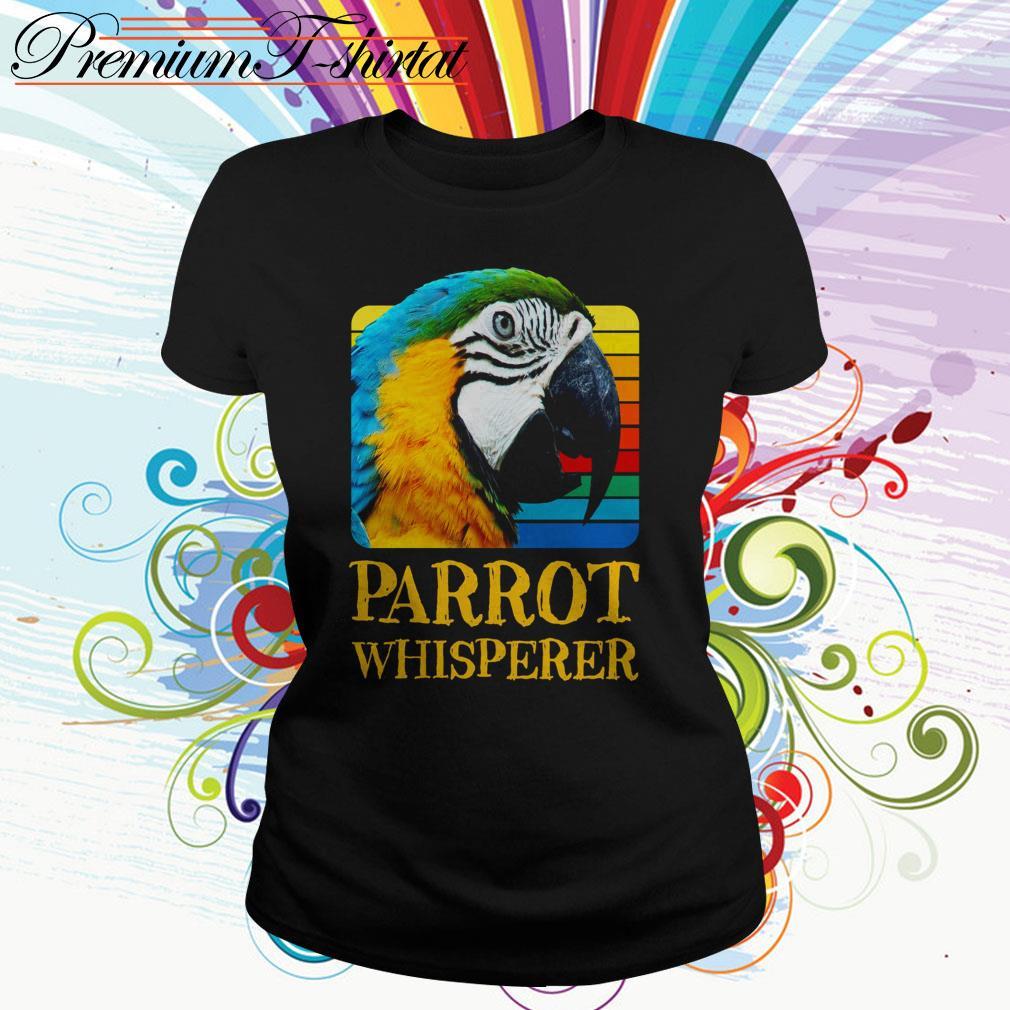 Parrot whisperer vintage Ladies Tee