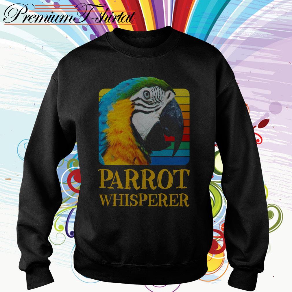 Parrot whisperer vintage Sweater