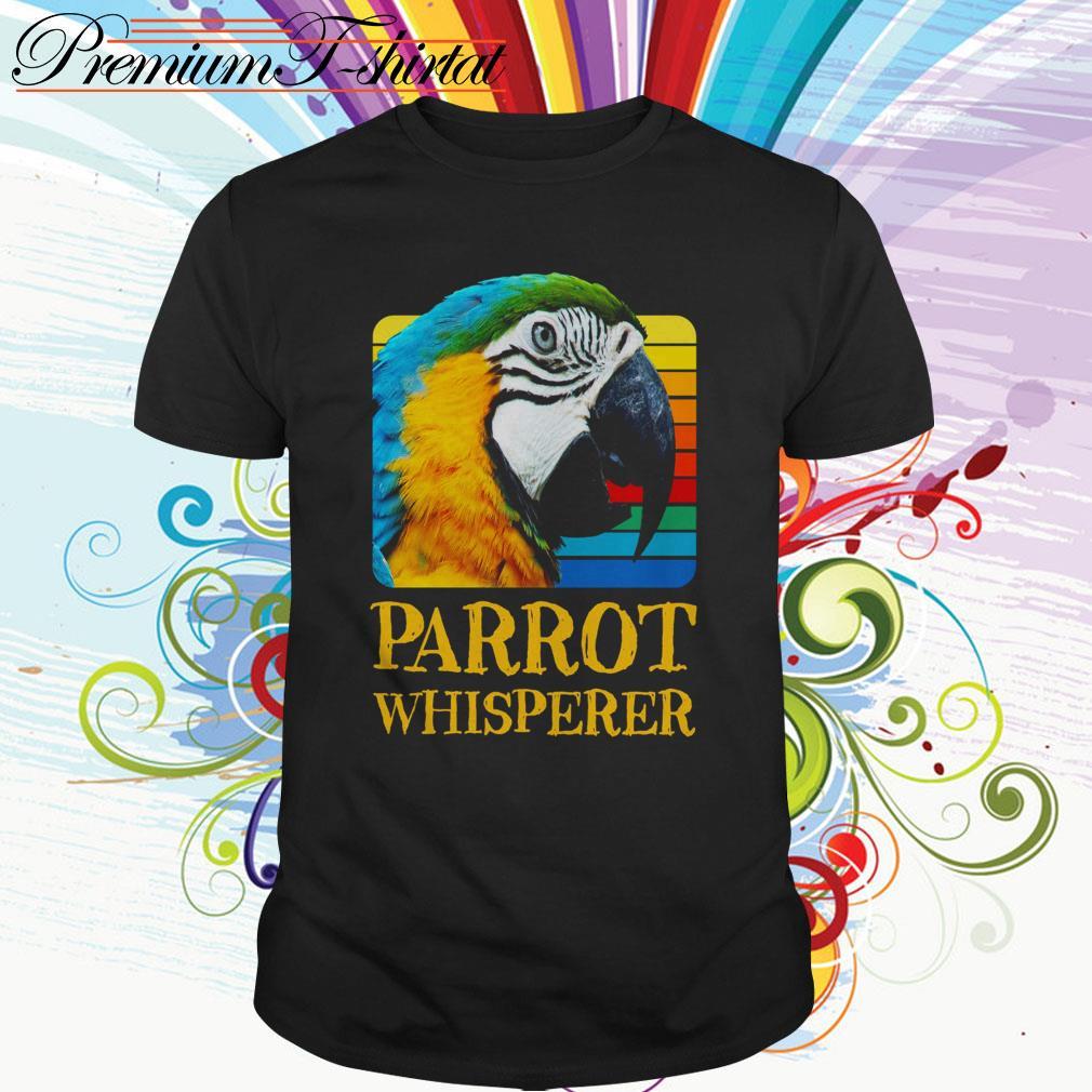 Parrot whisperer vintage shirt