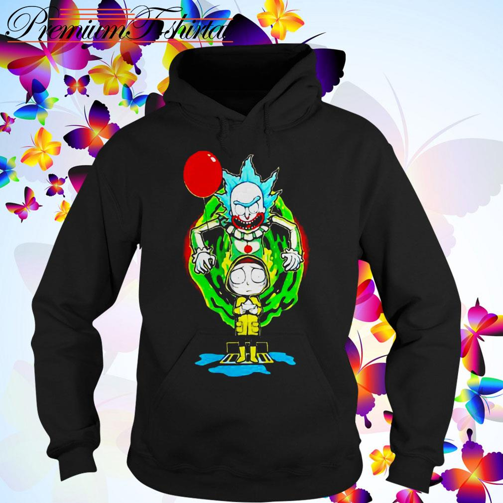 Pennywise IT Rick and Morty Halloween Hoodie