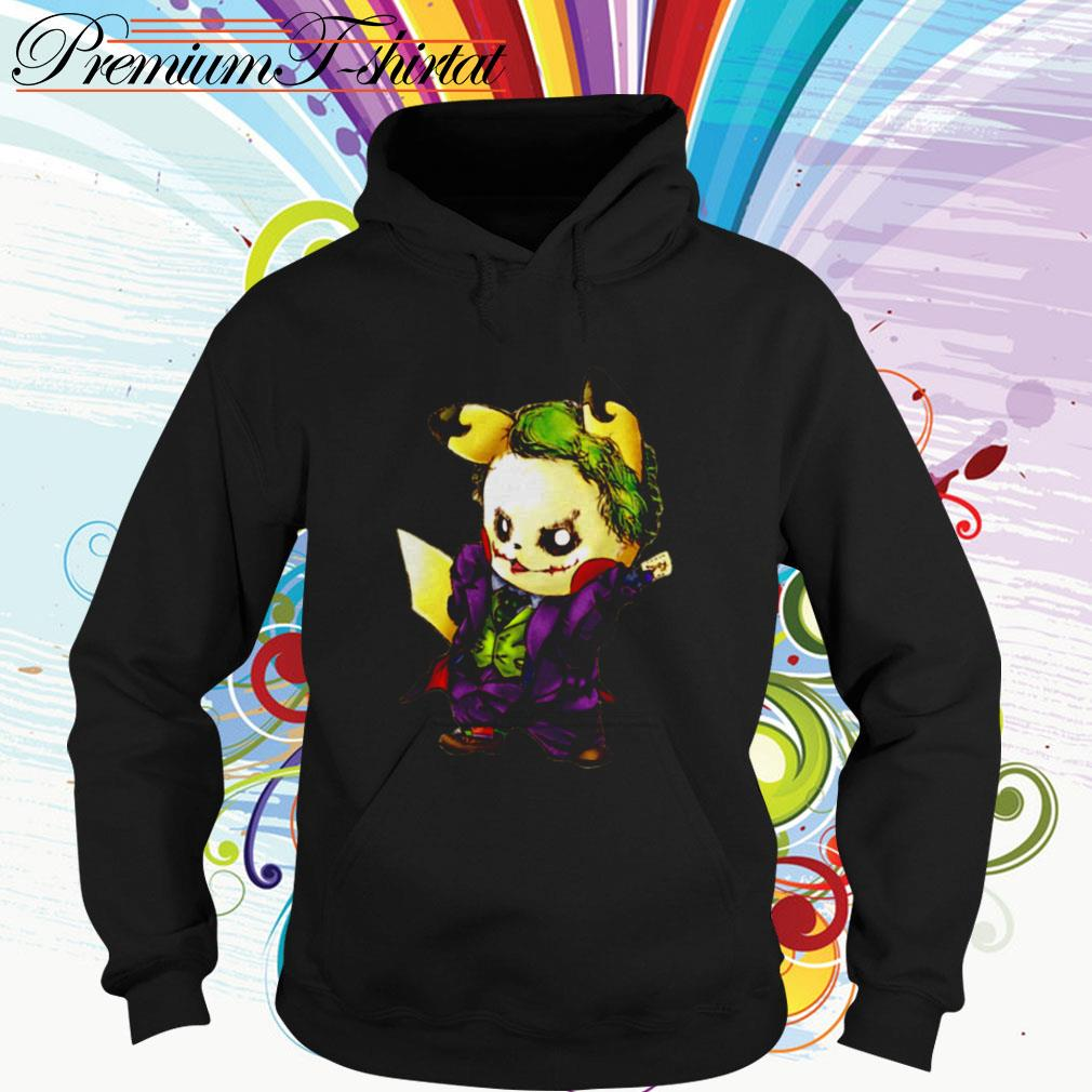 Pikachu Joker mashup Hoodie