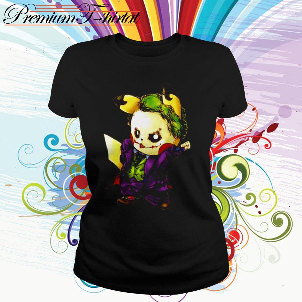Pikachu Joker mashup Ladies Tee