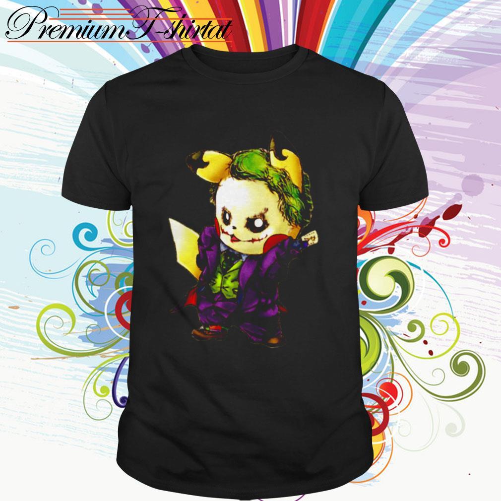 Pikachu Joker mashup shirt