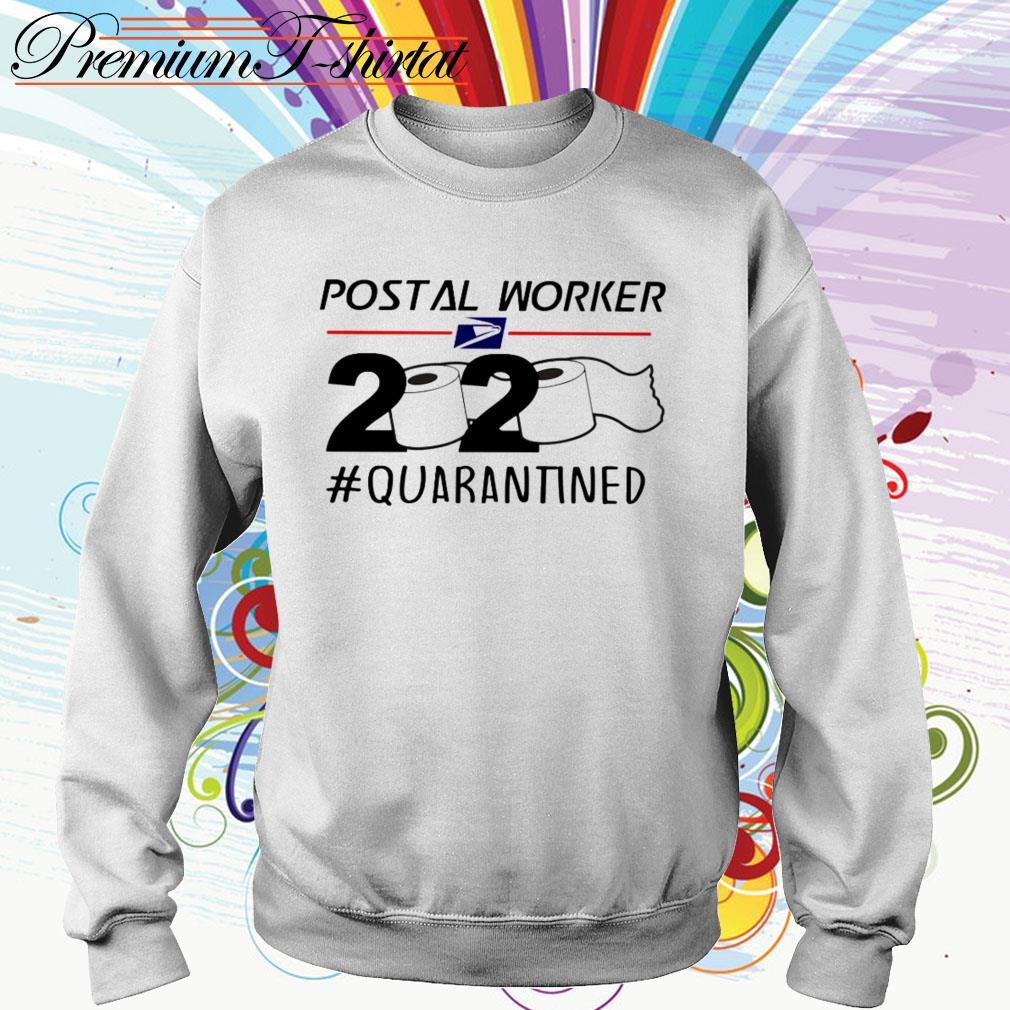 Postal Worker 2020 # Quarantined Toilet Paper Sweater
