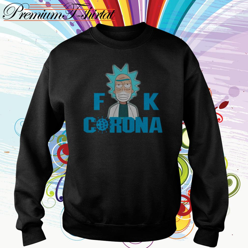 Rick and Morty Fuck Corona Sweater