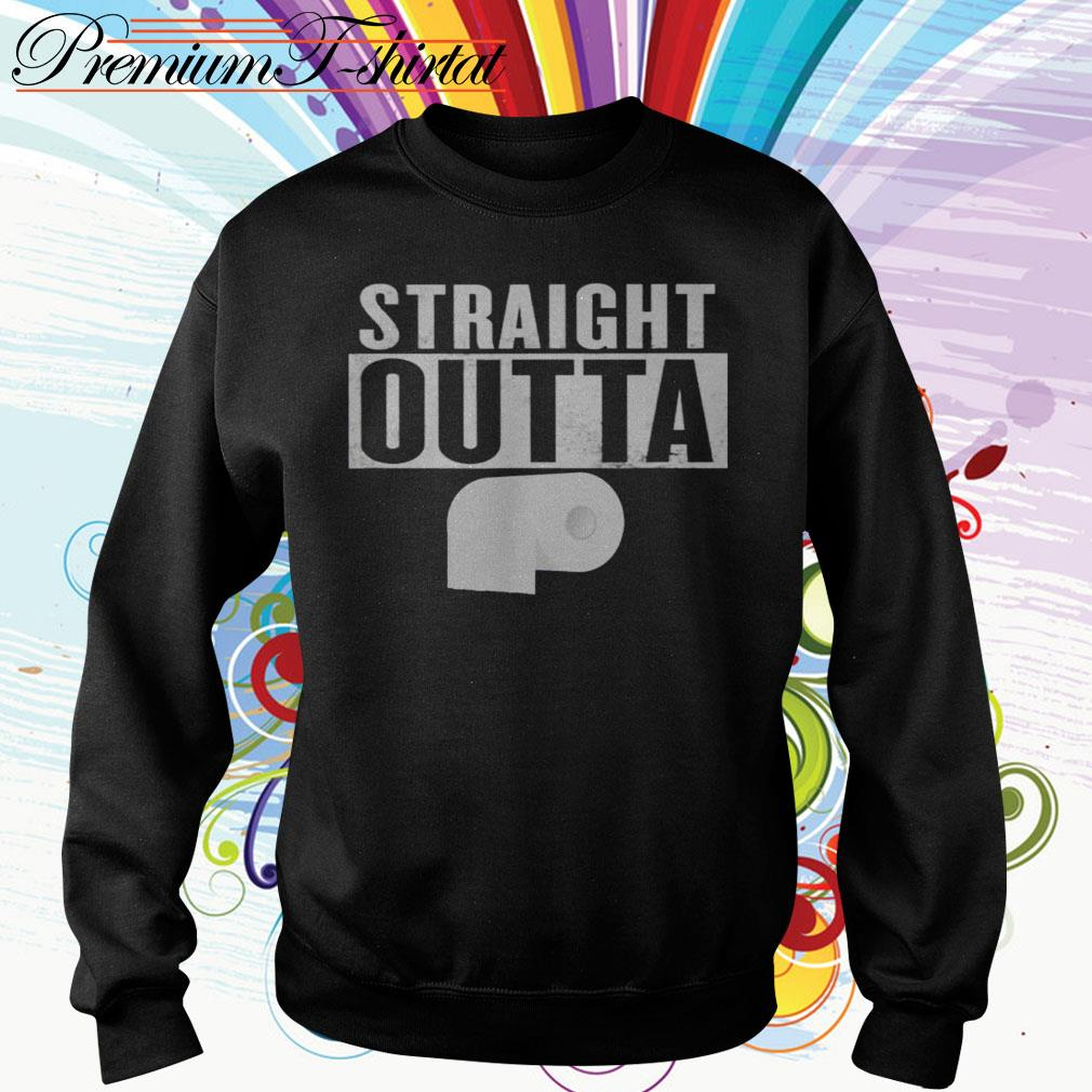Straight outta toilet paper Sweater