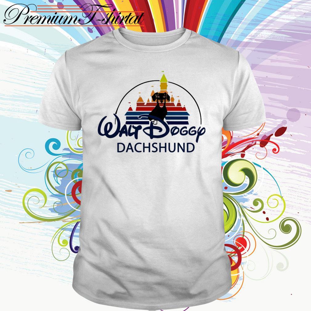 Walt Doggy Dachshund Disney shirt