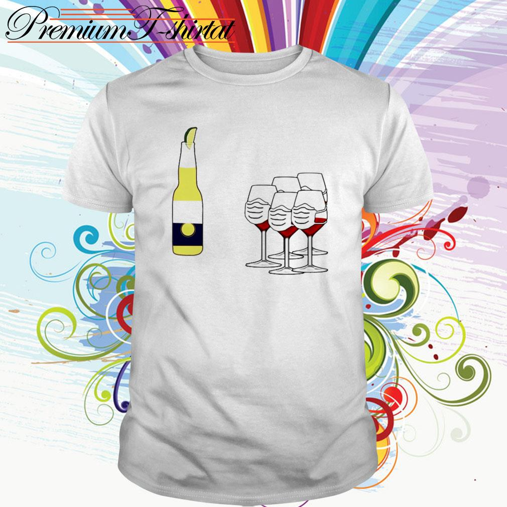 Wine and Corona shirt
