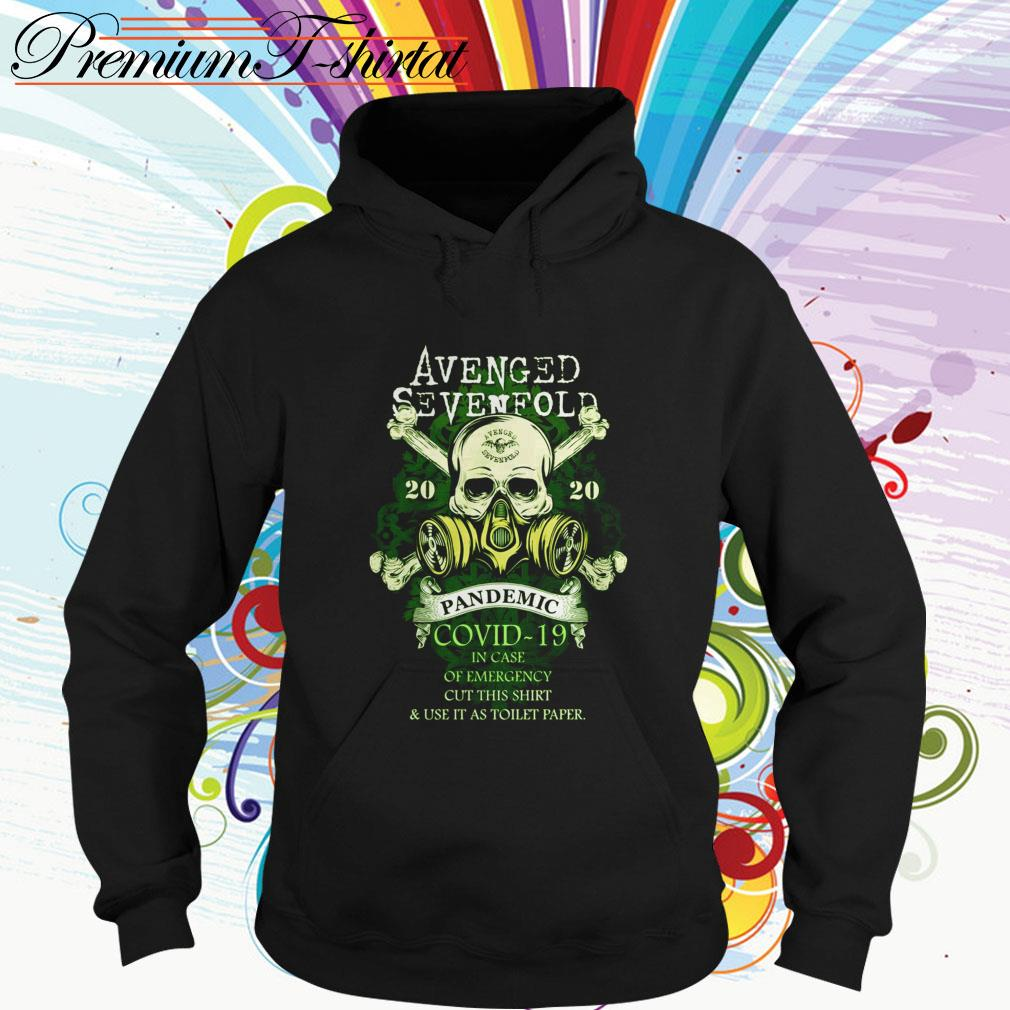 Avenged Sevenfold 2020 Pandemic Covid-19 in case of emergency cut this Hoodie