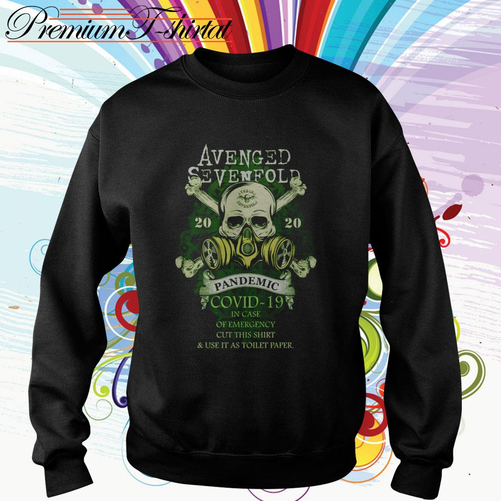 Avenged Sevenfold 2020 Pandemic Covid-19 in case of emergency cut this Sweater