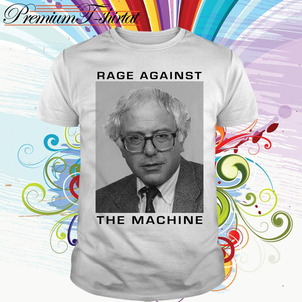 Bernie Sanders rage against the machine shirt