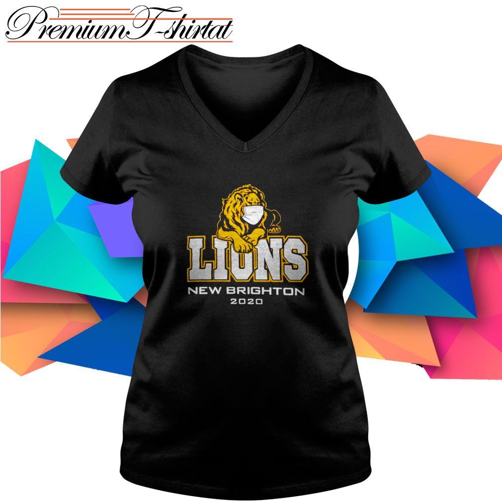 Lions New Brighton 2020 quarantine V-neck T-shirt