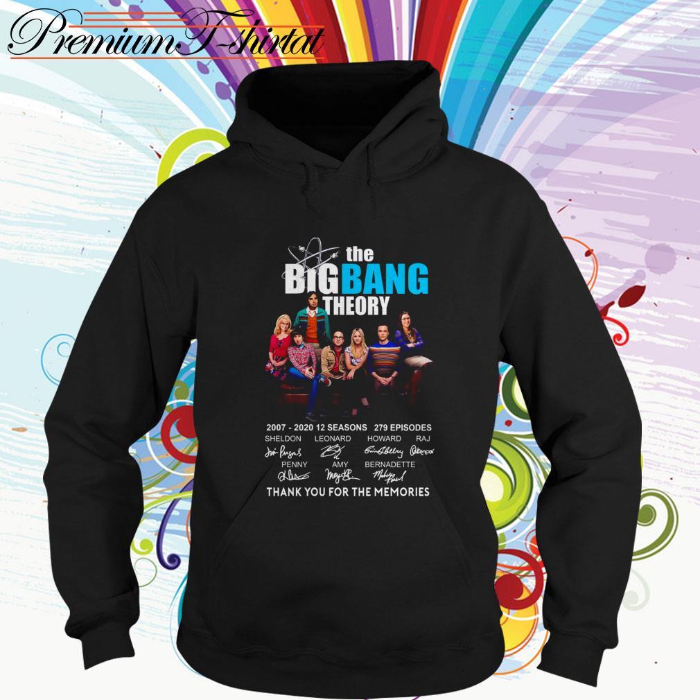 The Big Bang Theory 2007-2020 12 seasons thank you for the memories Hoodie