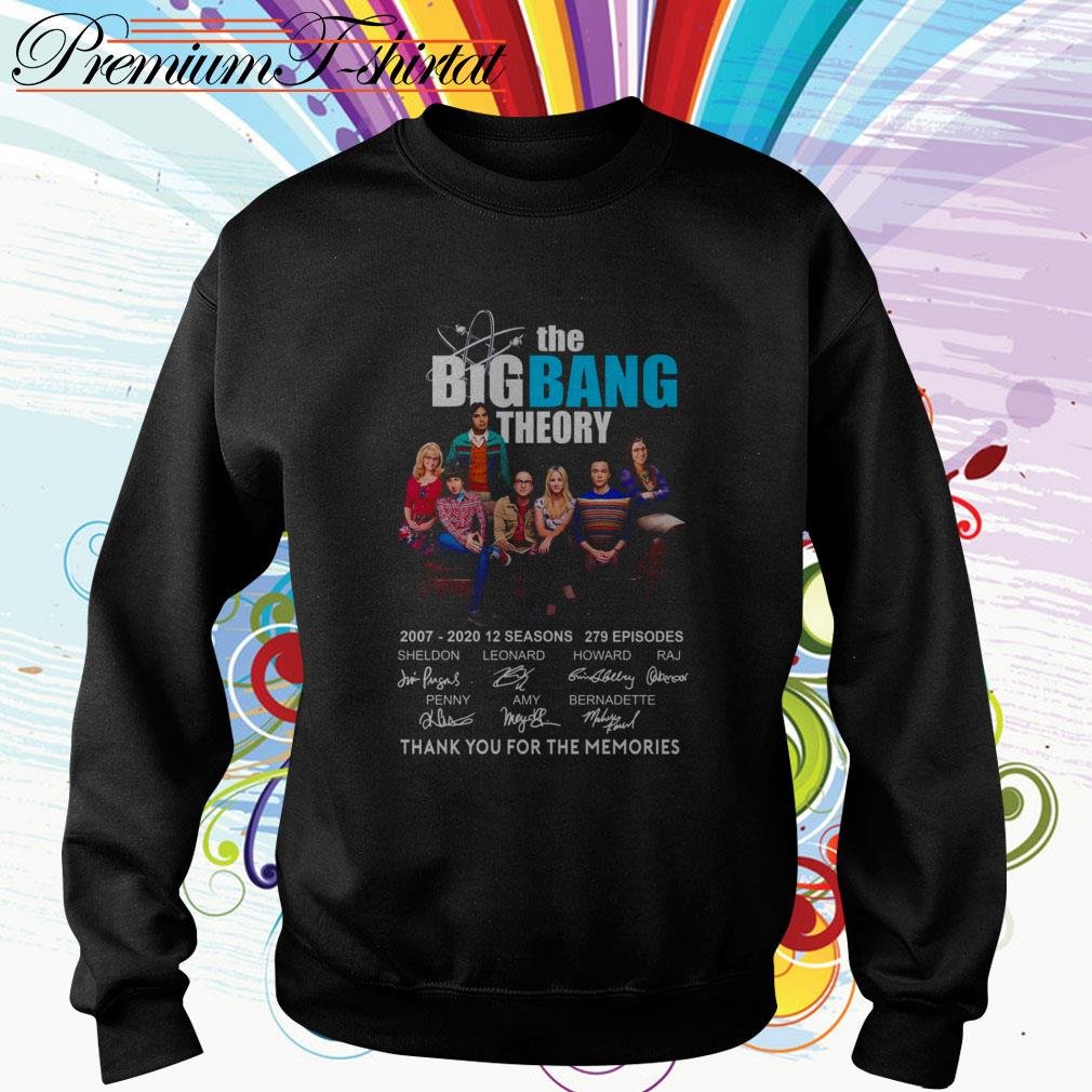 The Big Bang Theory 2007-2020 12 seasons thank you for the memories Sweater