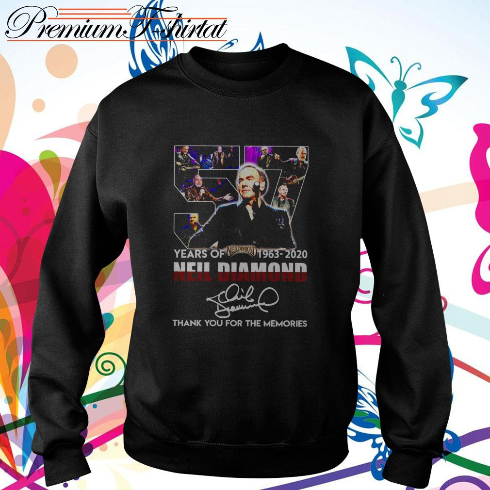 57 Years of Neil Diamond 1963-2020 thank you for the memories signature Sweater
