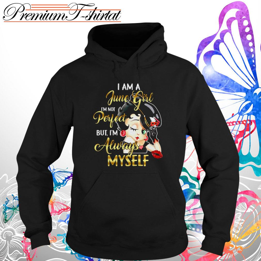 Betty Boop Heart You Forever Adult Work Shirt