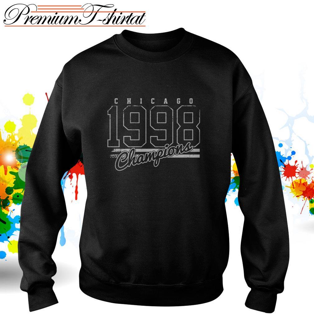 Chicago 1998 Champions Sweater