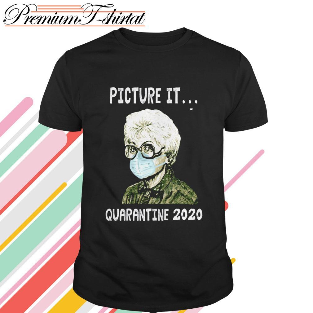 Estelle Getty mask picture it quarantine 2020 shirt