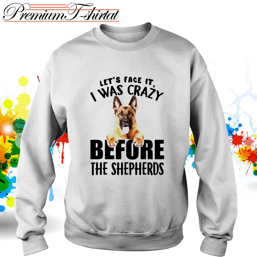 Let's face it I was crazy before the Shepherds Sweater