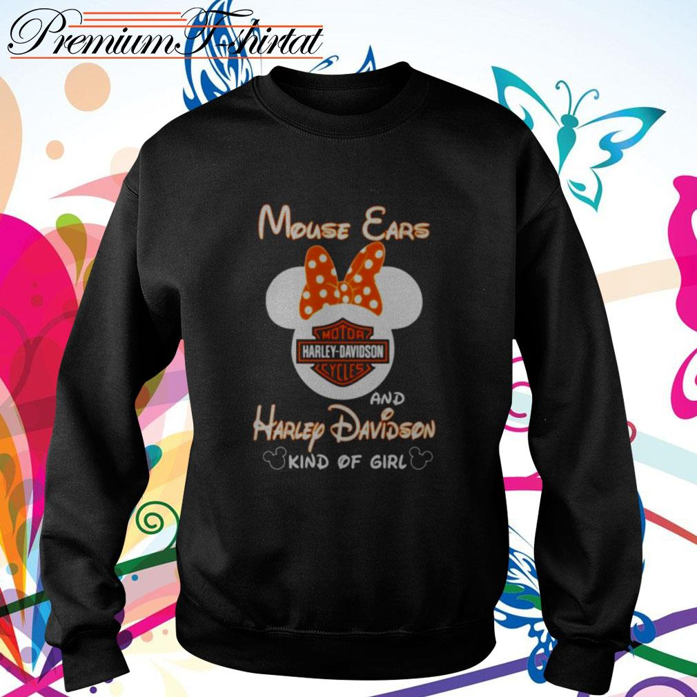 Mouse ears and Harley Davidson kind of girl Sweater