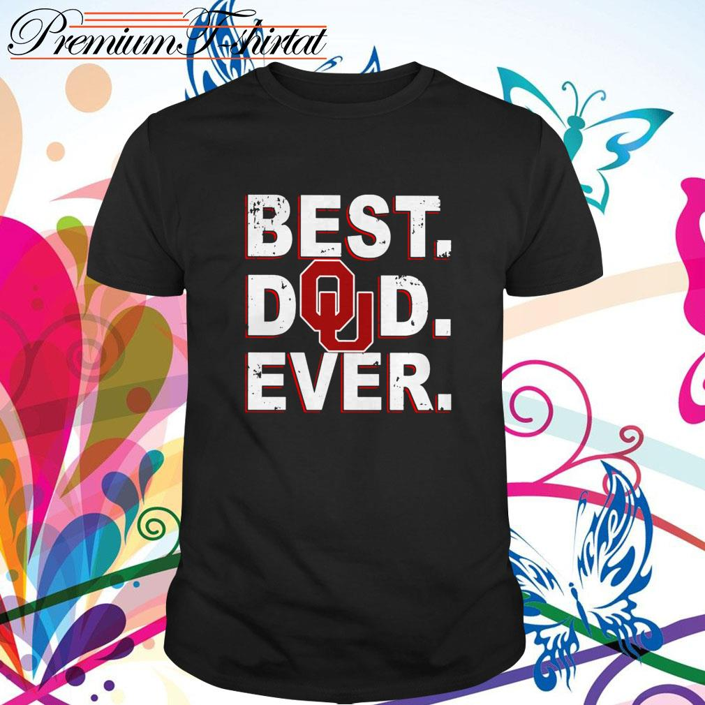 Oklahoma Sooners best dad ever shirt