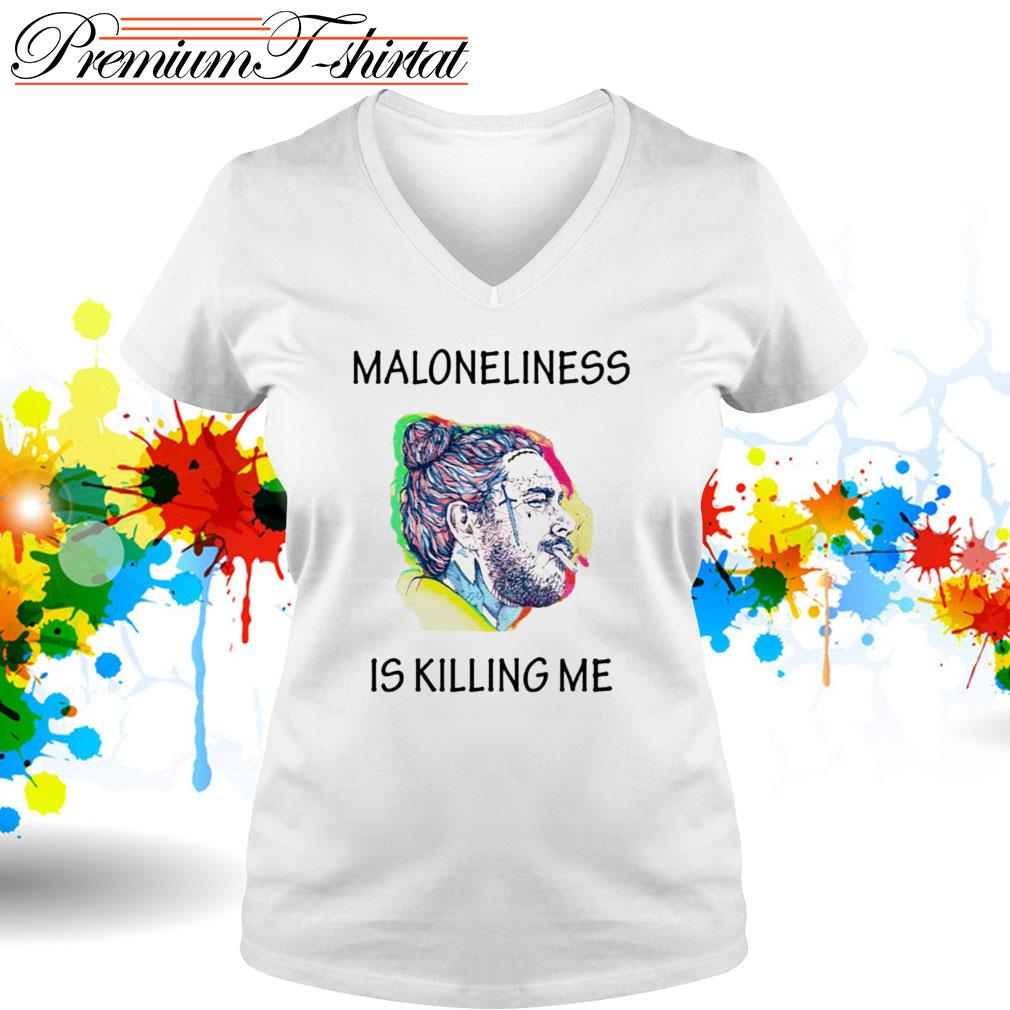 Post Malone Maloneliness is killing me V-neck T-shirt