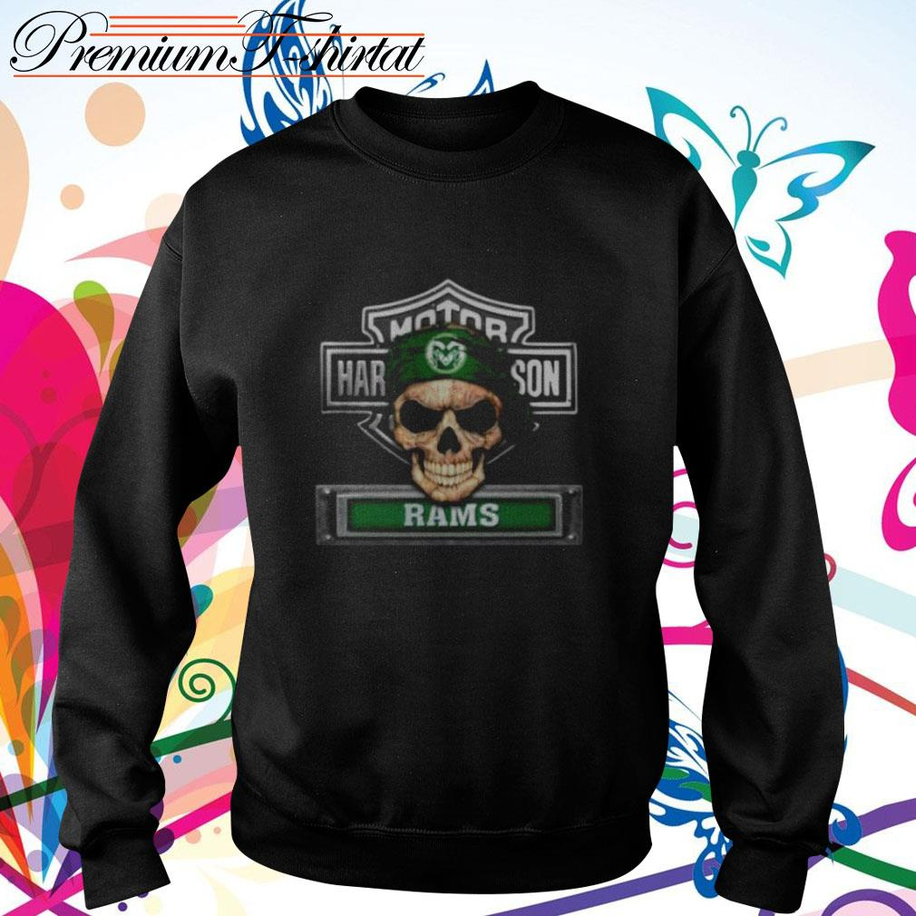 Skull Motor Harley-Davidson Colorado State Rams Sweater