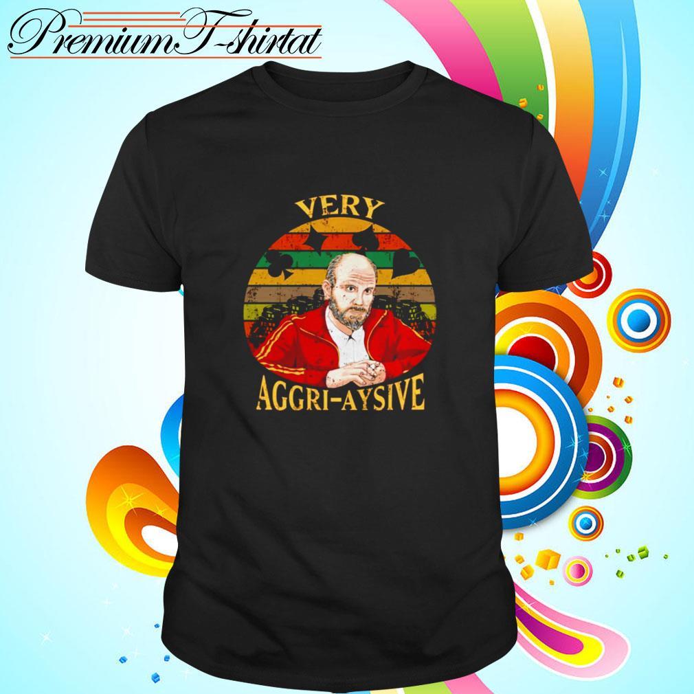 Teddy KGB Very Aggri Aysive vintage shirt