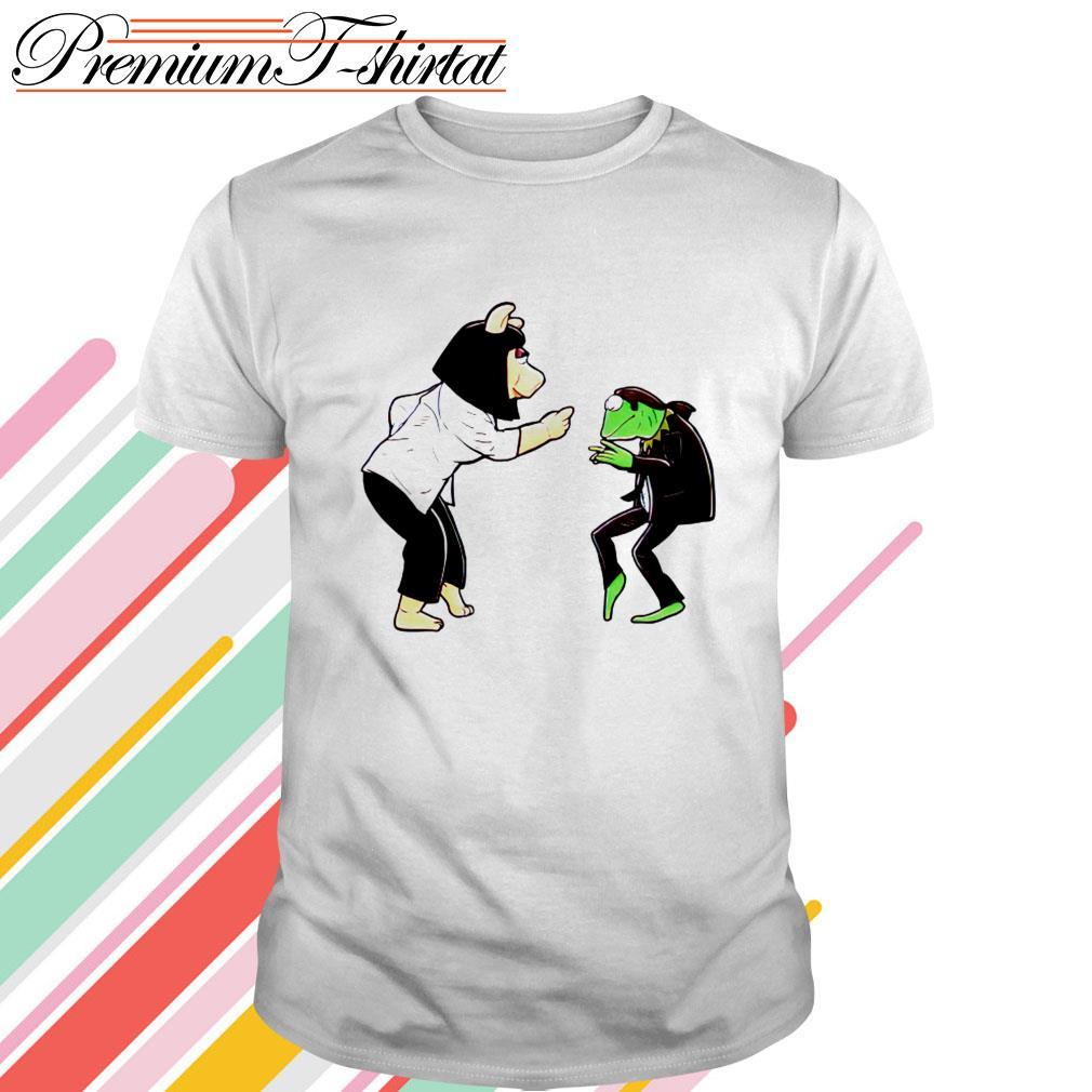 Frog Kermit and Miss Piggy Fiction Dance shirt