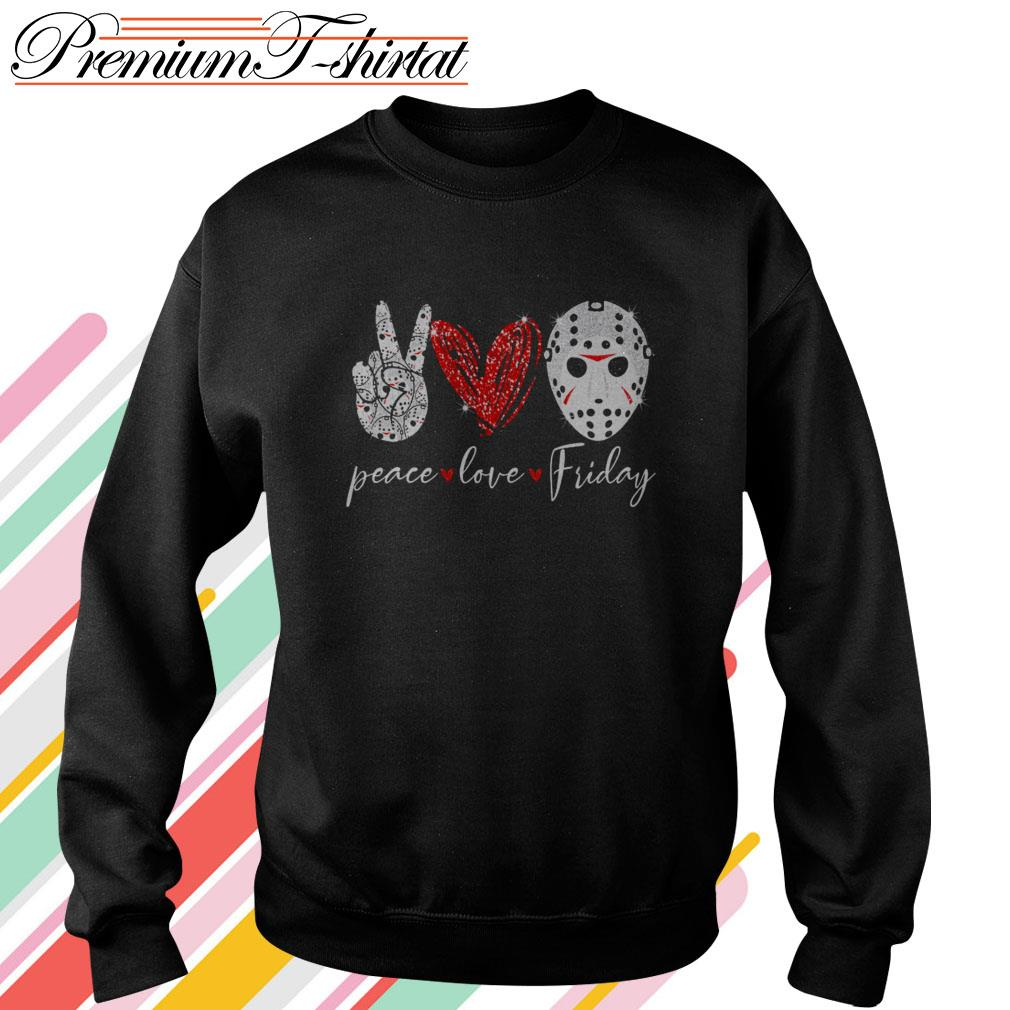 Jason Voorhees Peace love Friday Sweater
