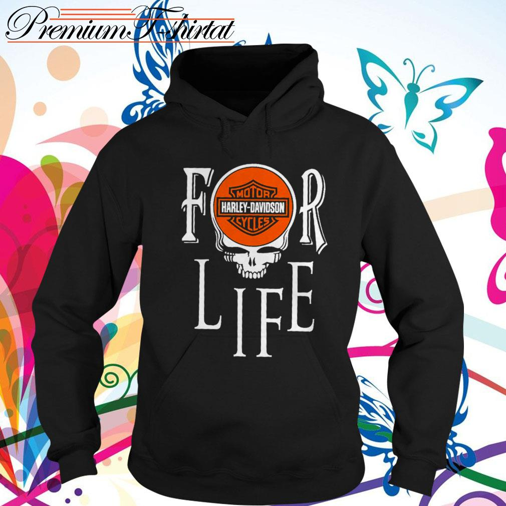 For Life Motor Harley-Davidson Cycles Hoodie