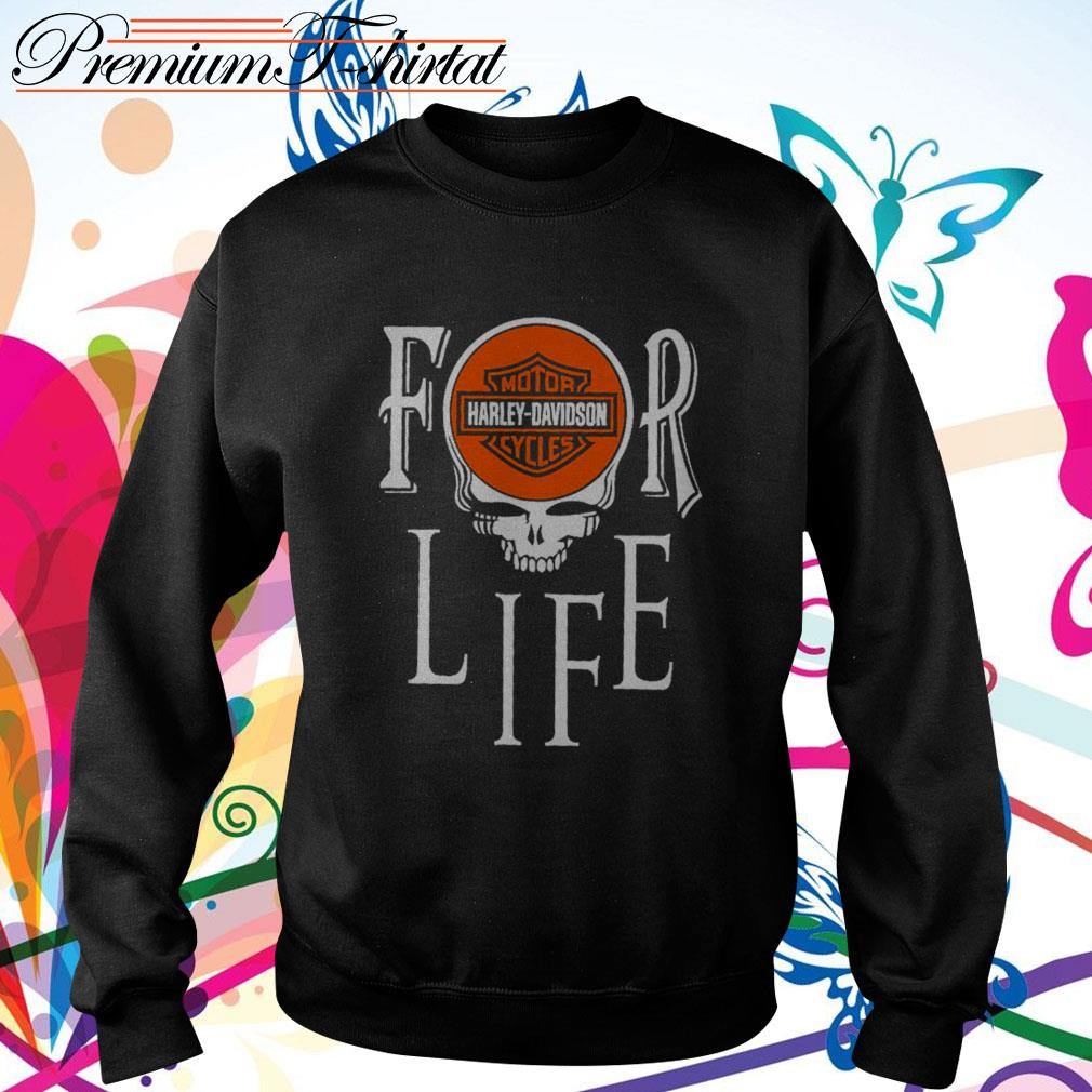 For Life Motor Harley-Davidson Cycles Sweater