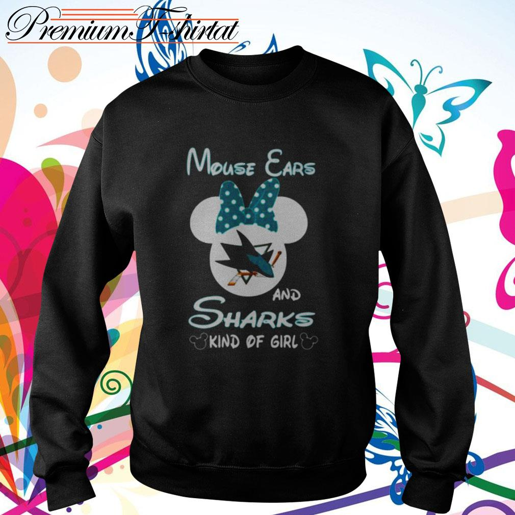 Mouse ears and sharks kind of girl Sweater