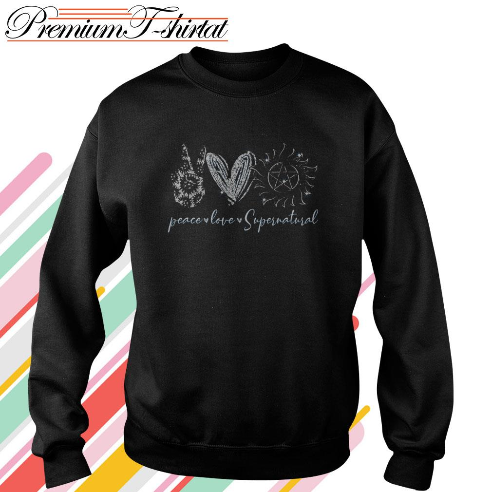 Peace love Supernatural Sweater