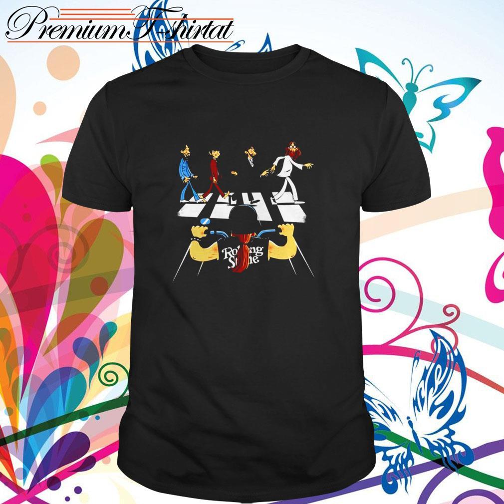 Rolling Stones Motor Abbey Road shirt
