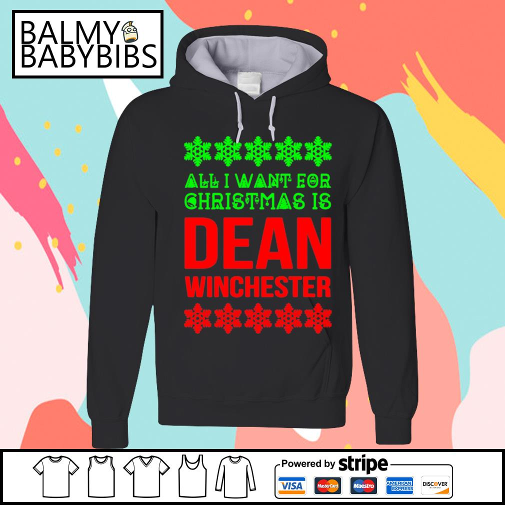 All I want for Christmas is dean winchester s hoodie