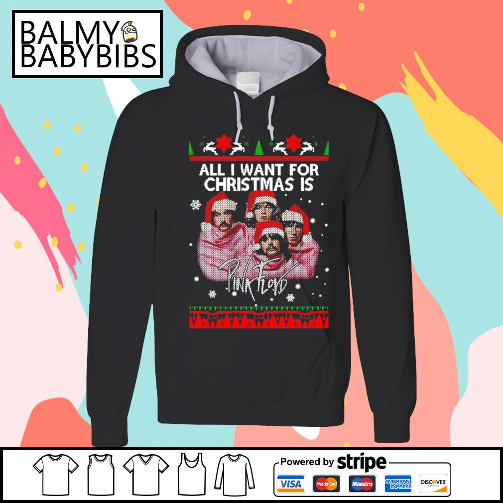 All I want for Christmas is Pink Floyd s hoodie