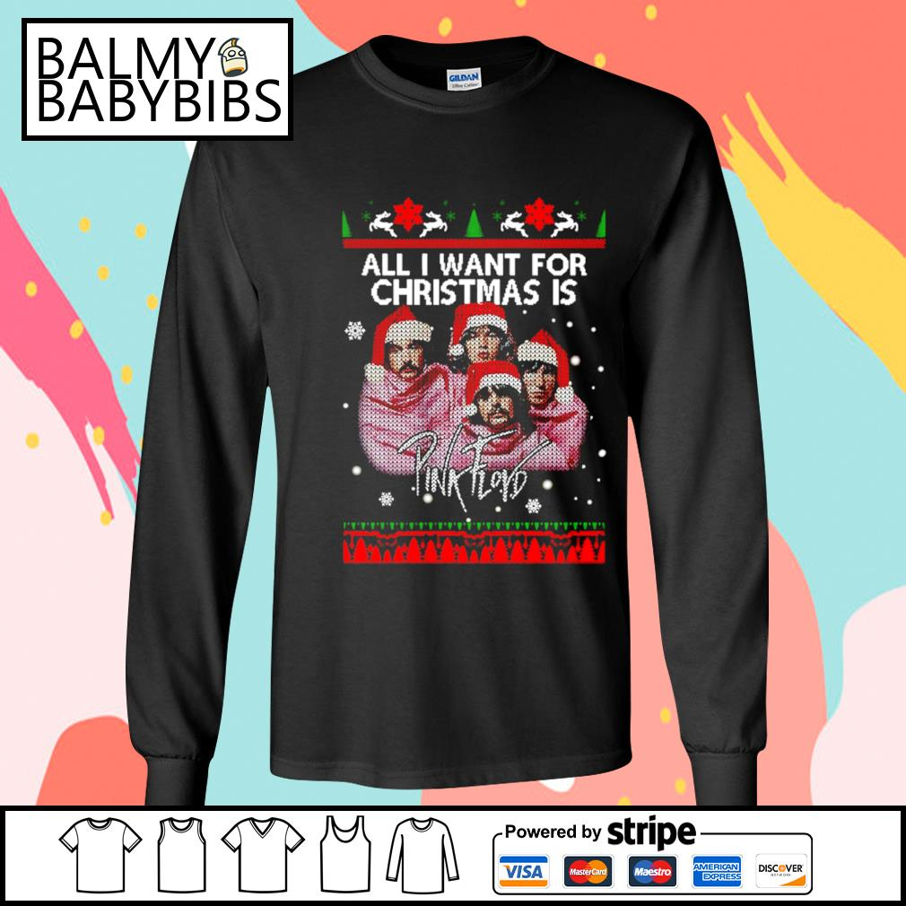 All I want for Christmas is Pink Floyd s longsleeve-tee