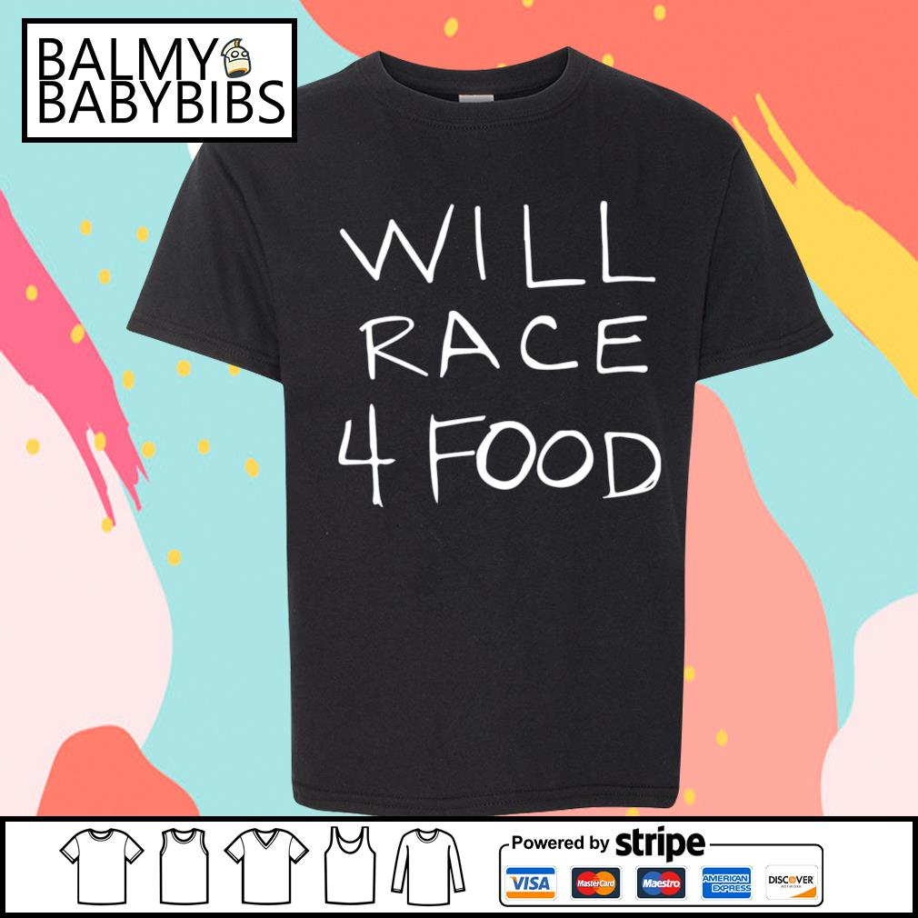 Will race 4 food s youth-shirt